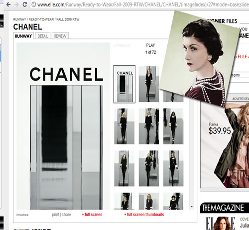 Coco Chanels on elle.com