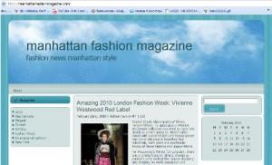 Manhattan Fashion Magazine 300 na 182