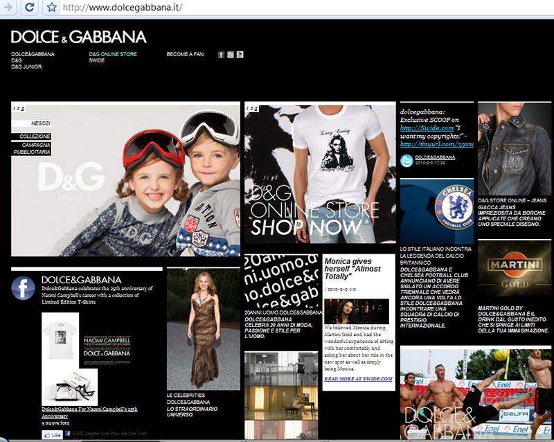 Dolce and Gabbana na800