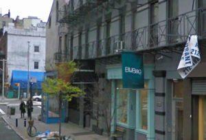 Blue Bag   266 Elizabeth St New York new york fashion design Street view