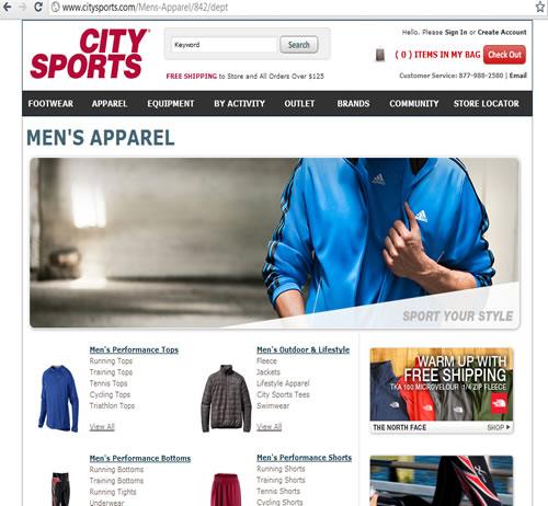 citysports 390 5th Avenue New York, NY 10018 Sporwea