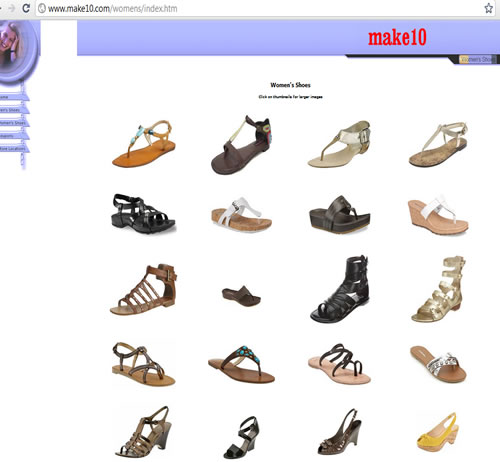 make 10 366 5th Avenue, New York, New York 10001 womens shoes