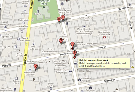 Ralph Lauren - New York 80 Bleecker Street New York, NY 10014 on Map