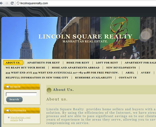Real Estate Agency LINCOLN SQUARE REALTY