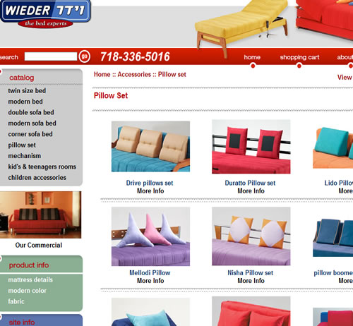 wieder modern Furniture from Israel for kids and adults