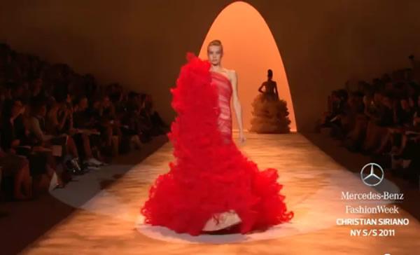 CHRISTIAN SIRIANO SPRING 2011 Fashion NY Web site