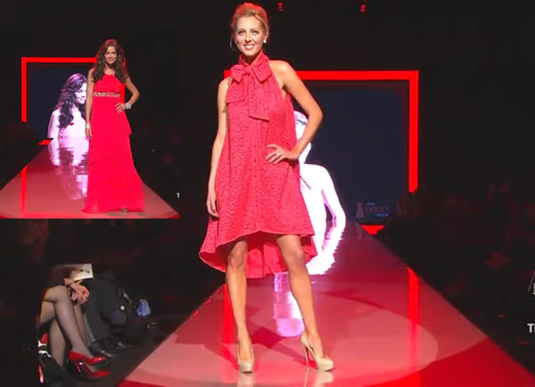 Red Dress Fashion Collection FALL 2011