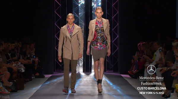 CUSTO BARCELONA MERCEDES-BENZ FASHION WEEK SPRING 2012 COLLECTIONS New York 2011