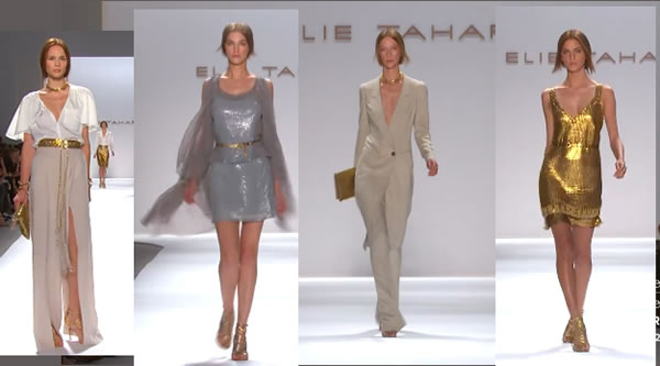 ELIE TAHARI - MERCEDES-BENZ FASHION WEEK SPRING 2012