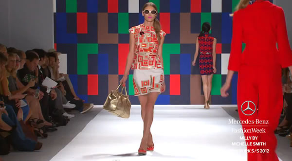 MILLY BY MICHELLE SMITH - MERCEDES-BENZ FASHION WEEK SPRING 2012