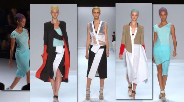 NARCISO RODRIGUEZ MERCEDES-BENZ FASHION WEEK SPRING 2012 New York Fashion 2011