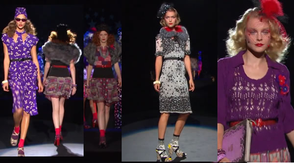 New York Fashion ANNA SUI - MERCEDES-BENZ FASHION WEEK SPRING 2012