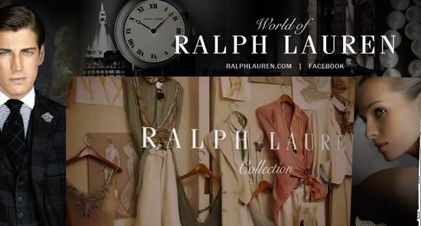 ralph lauren web collage