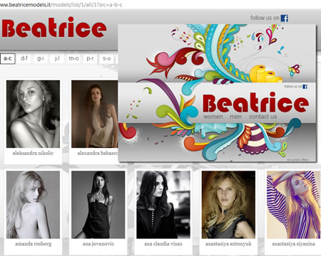 Italy Beatrice models.it Model Agency