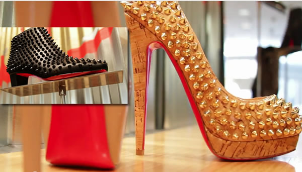 Christian Louboutin at Neiman Marcus Beverly Hills 2012
