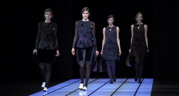 Giorgio Armani Fall Winter 2012-13 Fashion NY