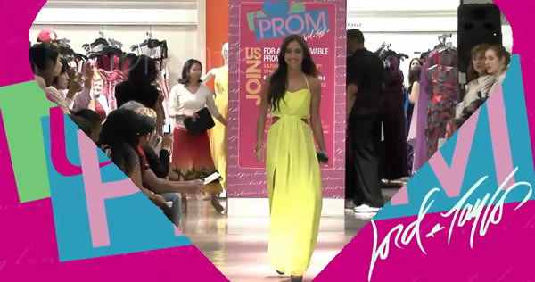 Lord and Taylor NYC Prom Fashion Show - Goddess Dresses