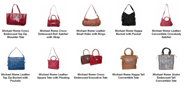 Michael Rome Handbags New York Fashion