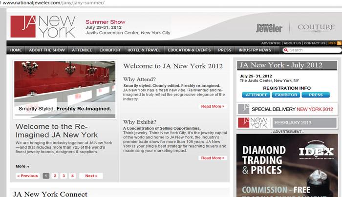 JA NEW YORK 2012 Fashion New York Magazine