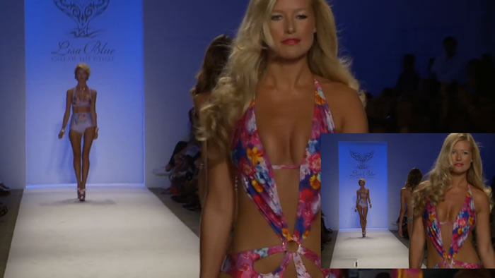 Lisa Blue Mercedes-Benz Miami Swim SS13 Manhattan New York Fashion