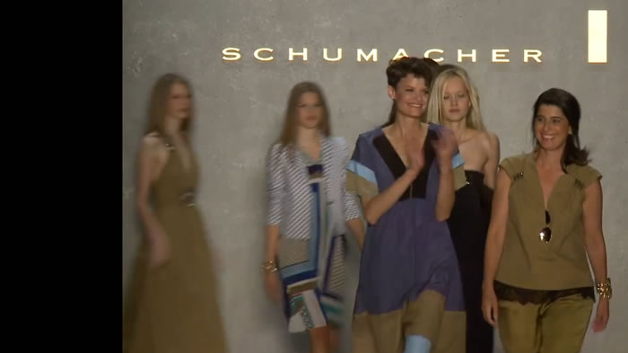Runway highlights from SCHUMACHER Spring Summer 2013 Collection at Mercedes-Benz Fashion Wee