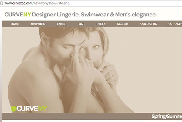 CurveNY and Boutique Lingerie present juried lingerie, swimwear and men's underwear