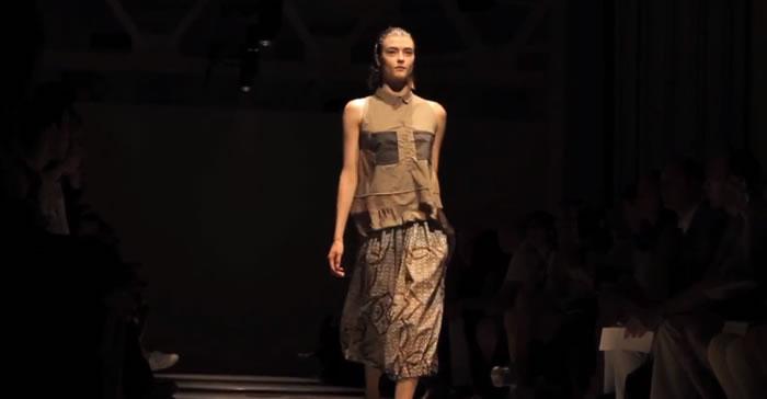 HACHE SS 2013 Runway Show Manhattan Fashion