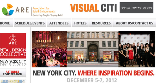 Retail Design Collective 2012 Fashion New York Manhattan