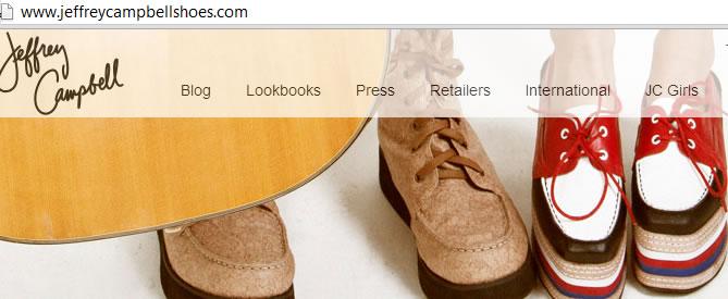 Jeffrey campbell shoes fashion ny website