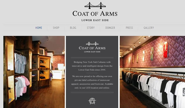 Coat of Arms Fashion New York