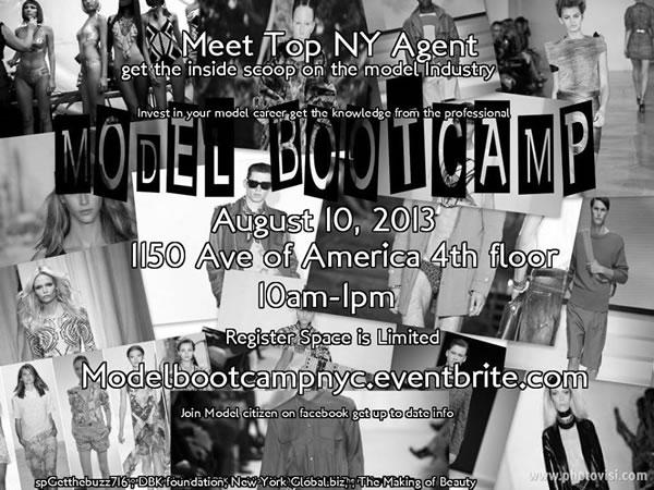 Model Bootcamp NU Fashion NY