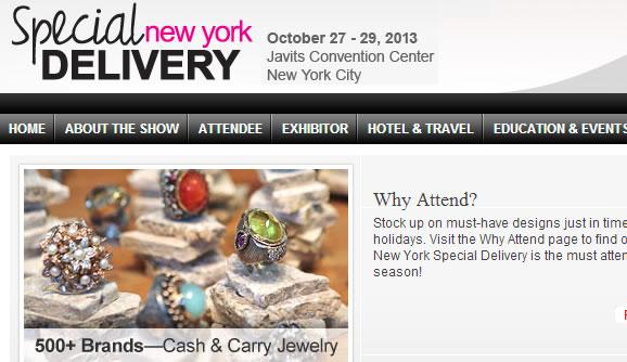 JEWELRY TRADE SHOW NEW YORK OCTOBER 27-29 2013 FASHION NY