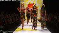 Mercedes-Benz Fashion Week September 2014.DESIGUAL FT ADRIANA LIMA: FINAL WALK AT MBFW S/S15 COLLECTIONS MANHATTAN FASHION MAGAZINE NEW YORK