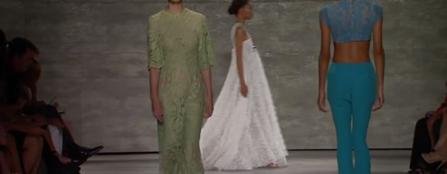 "Mercedes-Benz Fashion Week New York September 2014 Fashion show looks from the STELLA NOLASCO Spring and Summer 2015 Collections at Mercedes-Benz Fashion Week in New York. ""Stella Nolasco's charm and […]"
