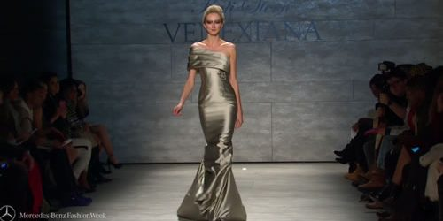 Fashion show looks from the VENEXIANA FW 2015 Collections at Mercedes-Benz Fashion Week in New York. MANHATTAN FASHION MAGAZINE NEW YORK