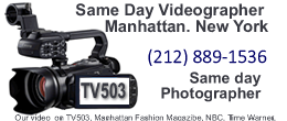 Same Day Video Manhattan NY 260na110