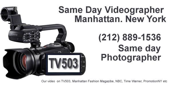 Same Day Video Manhattan NY