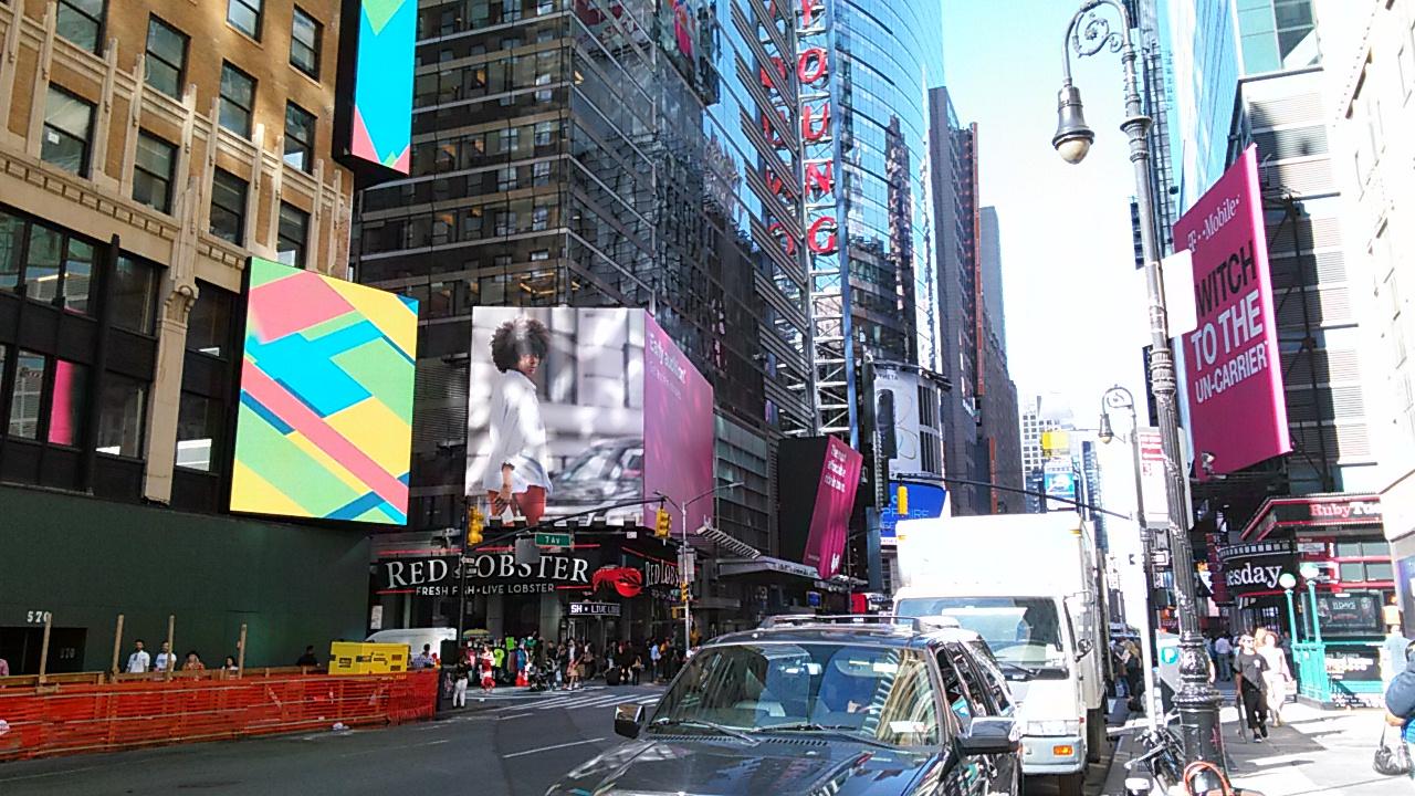 New York Fashion Week on Fashion Avenue and 41 street NY