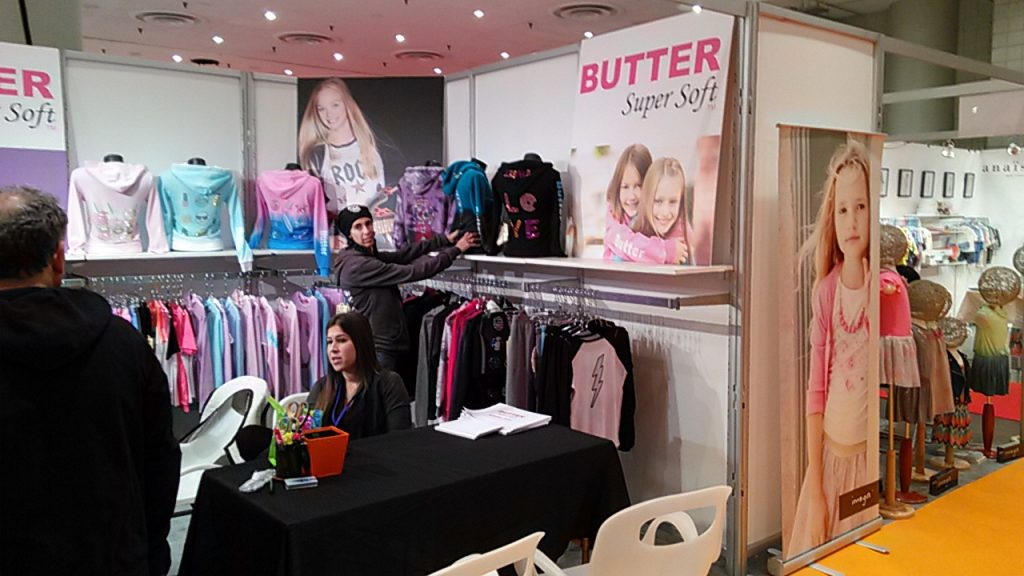 Butter Super Soft TM Javits Center New York October 2015