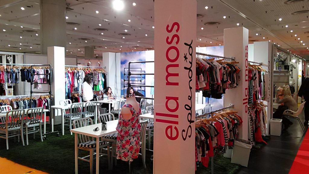 Ella Moss Splendid. New York Fashion Trade Show Children's Club 2015 Javits Center
