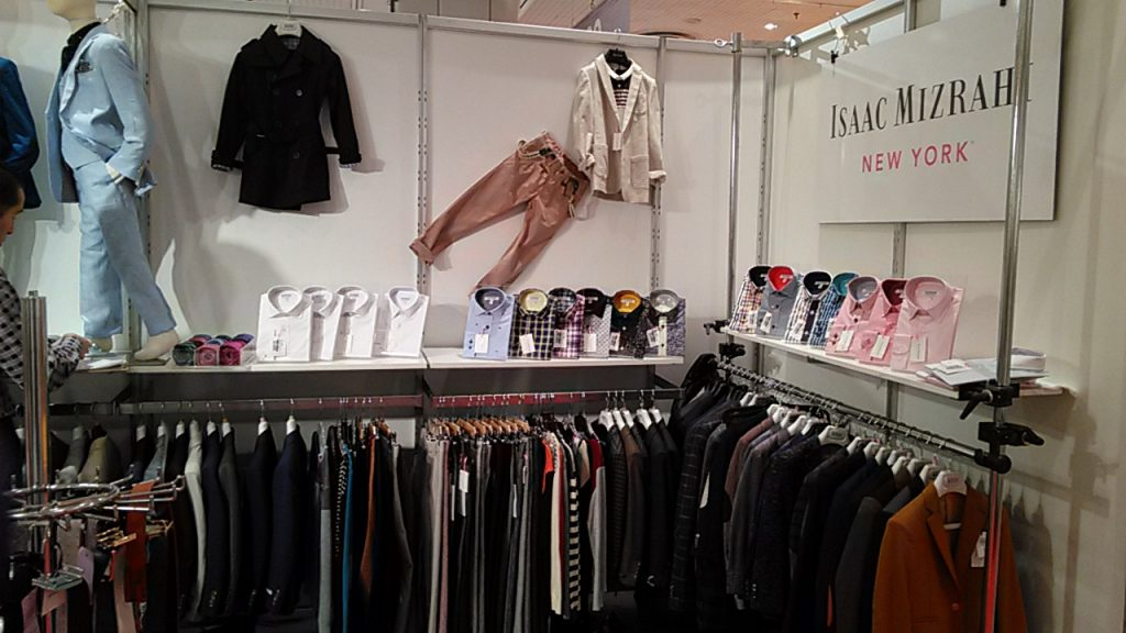 Isaac Mizrahi New York. Fashion for BOYS FROM MIZRAHI. Javits Center. Children's Club Fashion apparel trade show.