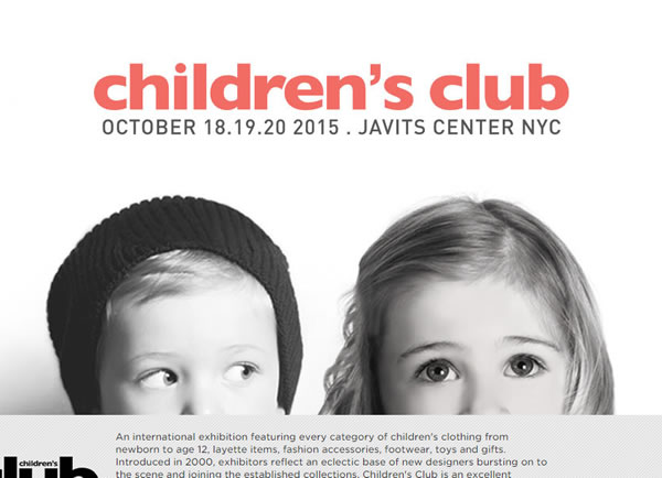 Childrens Club New York Javits Center 2015