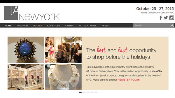 Jewelry Fashion Trade Show NY Javits Special Delivery