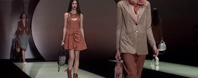 Emporio Armani – 2016 Spring Summer Womenswear Collection MANHATTAN FASHION MAGAZINE NEW YORK