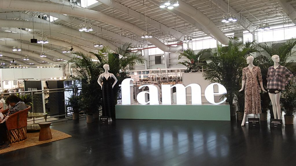New York Fashion. FAME. trade show New York Javits Center 2016