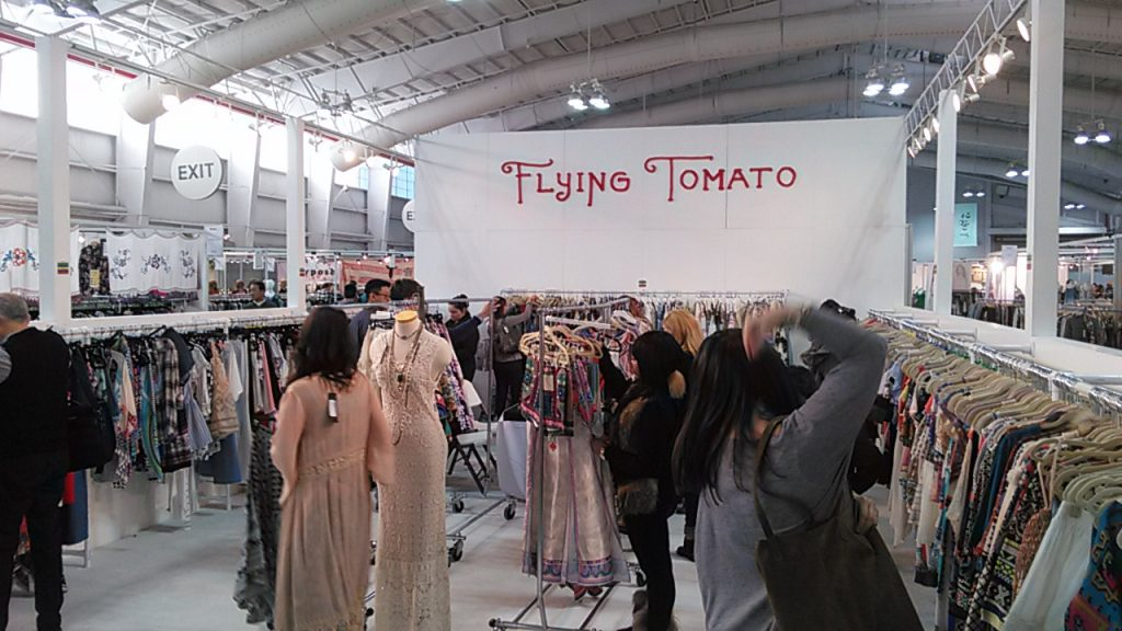 Flying Tomato. Fashion FAME. Trade show