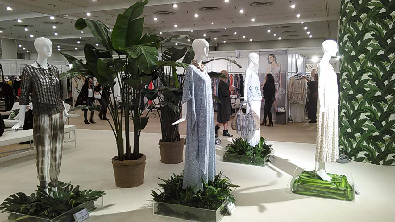 Moda. Fashion Trade Show New York 2016 January