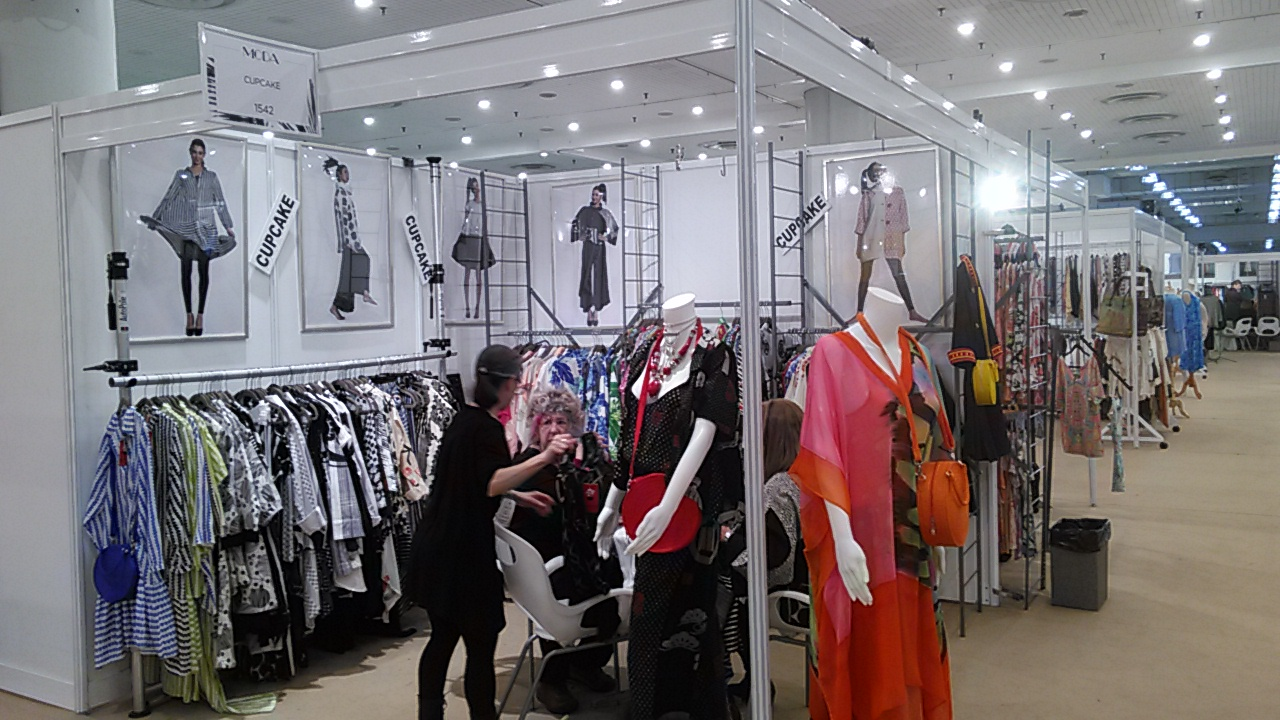 CUPCAKE Fashion . Booth 1542