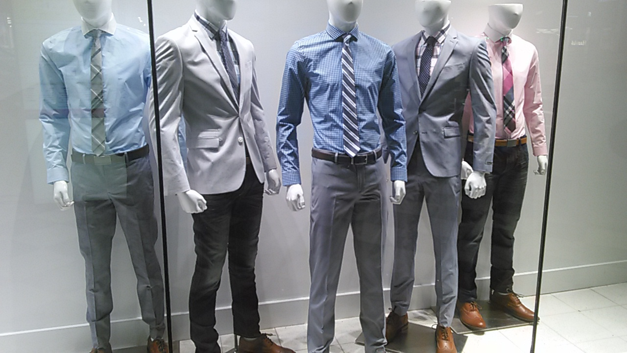 Express fashion for man. New York Style 2016