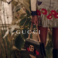 First look at the Gucci Pre-Fall 2016 Campaign film, directed by Glen Luchford. Inside a glassed aviary, a cast of carefree characters' roam amongst plants, wandering flamingos and piles of […]